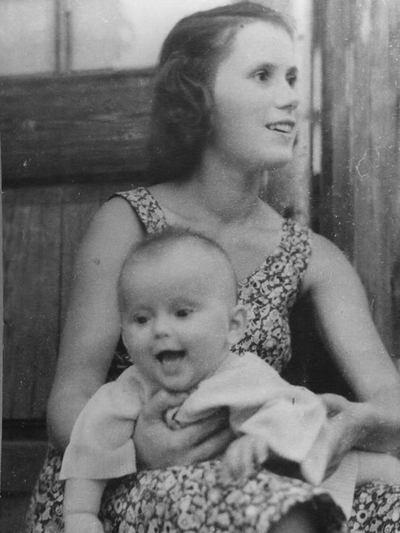 Зоя Фомина с дочерью Ольгой