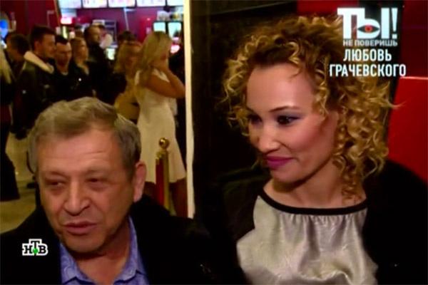 Борис Грачевский хочет, чтобы о талантах его супруги знали все