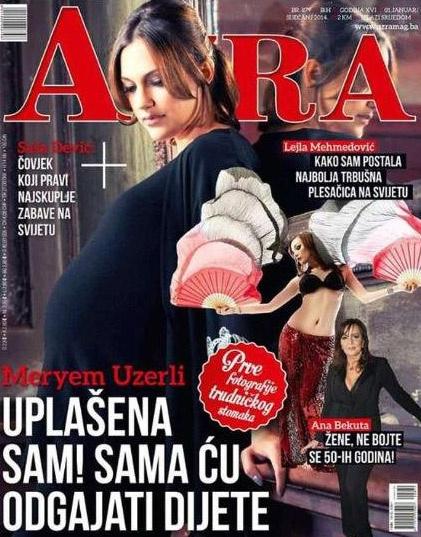 Обложка боснийского журнала Azra