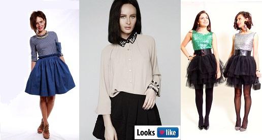 Саша Зверева в одежде Looks like shop