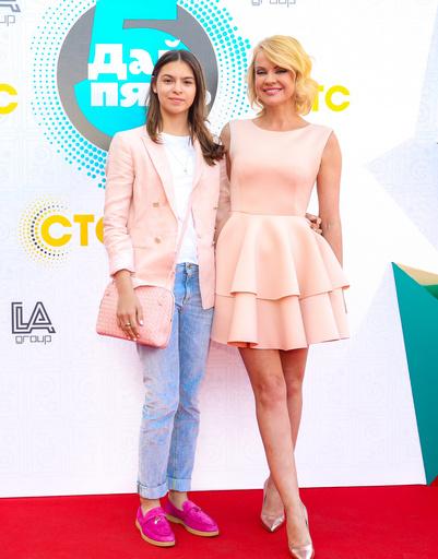 Ирина Ортман с дочерью