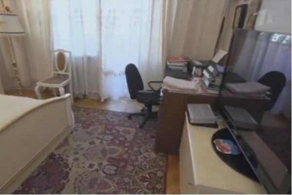 Так выглядела комната до ремонта