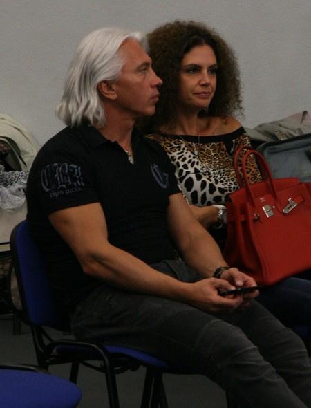 Дмитрий Хворостовский с женой Флоренс