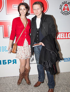 Валерия Ланская и Рамаз Чиаурели