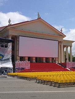 В Зимнем театре все готово к церемонии открытия