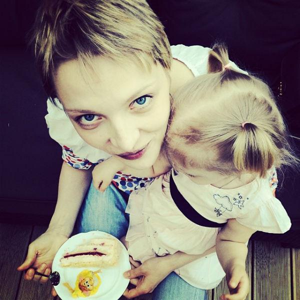Екатерина Вилкова с дочкой Павлой