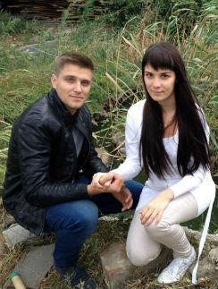 Юрий Слободян и Екатерина Токарева