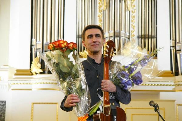 Музыкант презентовал альбом «Гудгора» в Санкт-Петербурге