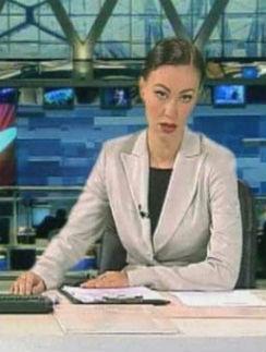 Нонна Гришаева в образе телеведущей Екатерины Андреевой