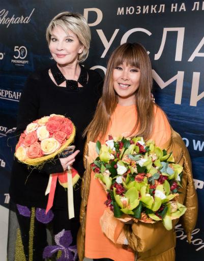 Татьяна Веденеева и Анита Цой
