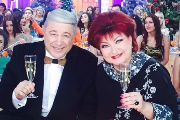 Петросян и Степаненко выглядели счастливой парой