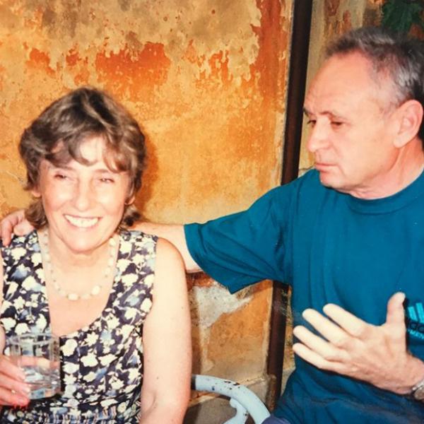 Мама Галкина с мужчиной, в чьем доме жила ее семья после войны