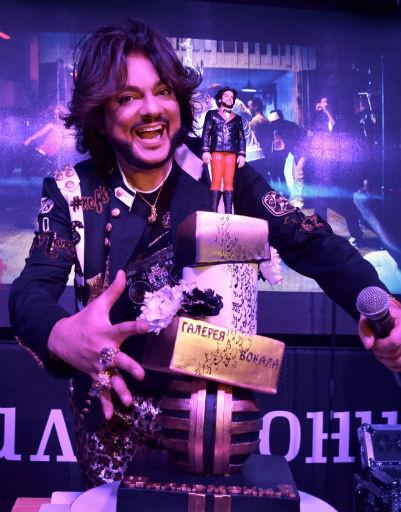 В честь открытия Киркорову преподнесли оригинальный торт