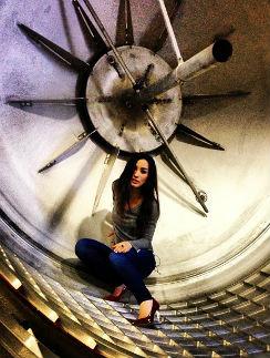Виктория внутри ракеты «Воевода»