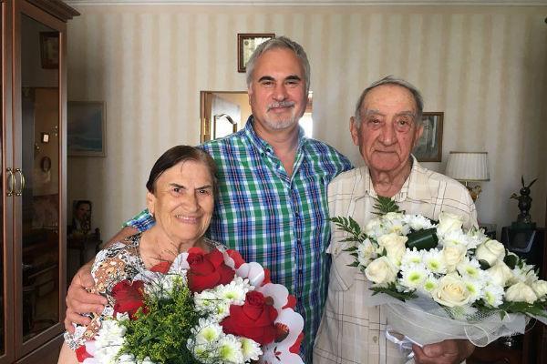 Валерий Меладзе с родителями