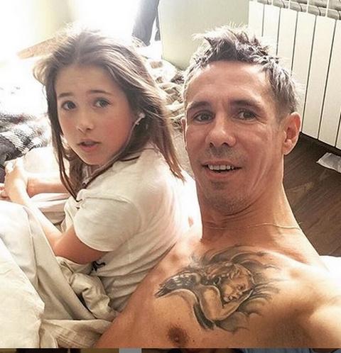Алексей Панин с дочерью Анной