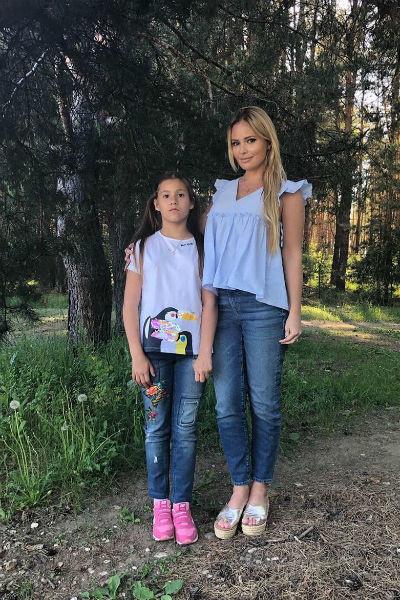 Дана Борисова расстроена конфликтом с ребенком