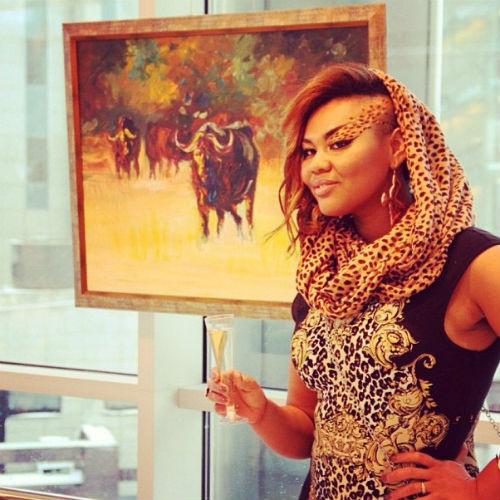 28 марта состоится вторая выставка картин Корнелии Манго