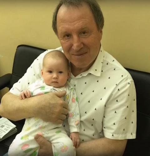 Владимир Стеклов с дочерью Ариной
