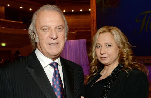 Поэт с супругой Ириной Романовой