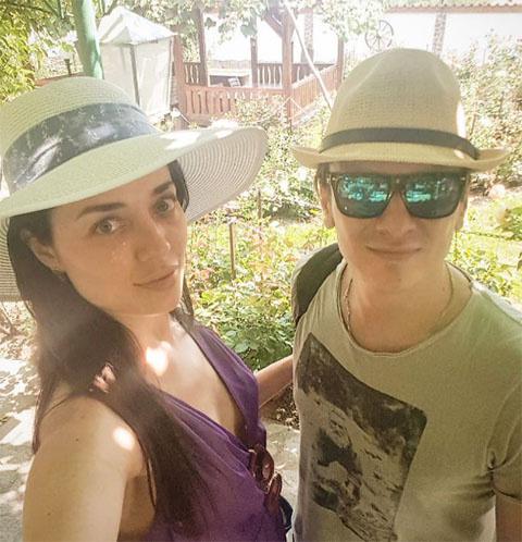 Елена Глазкова и Глеб Матвейчук