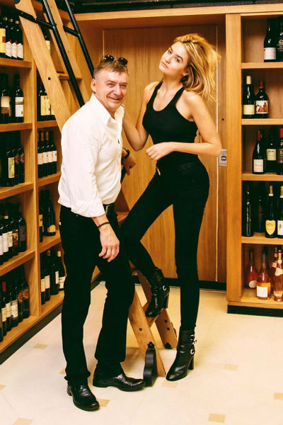 Антон Табаков с дочкой Анной