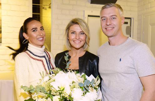 Анастасия Задорина, Екатерина Архарова и Артем Илясов