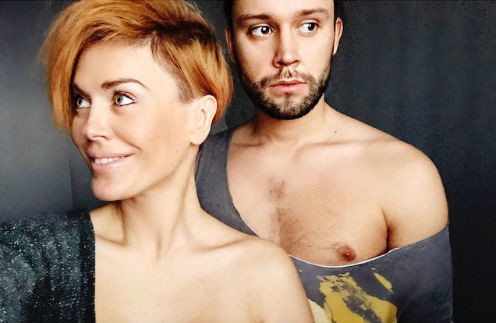 Таня Терешина с мужем Славой Никитиным