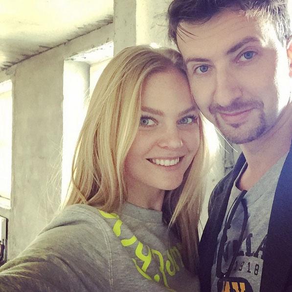 Елена Кулецкая и ее муж Станислав Романовский в своем семейном гнездышке