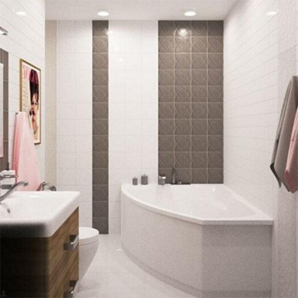 Ванная комната получилась просто шикарной