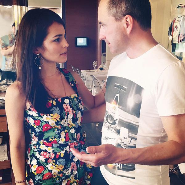 Эдвард Браулт и Сати Казанова познакомились год назад