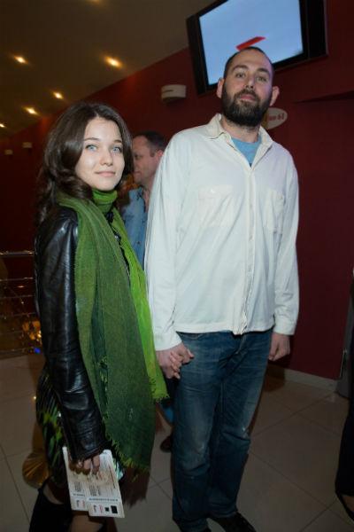 Семен Слепаков с супругой Кариной