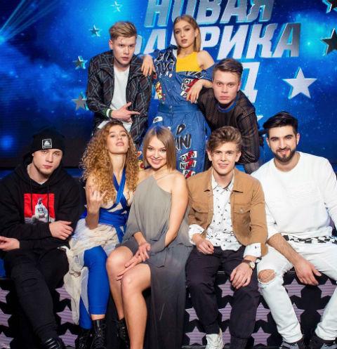 Финалисты «Новой фабрики звезд»