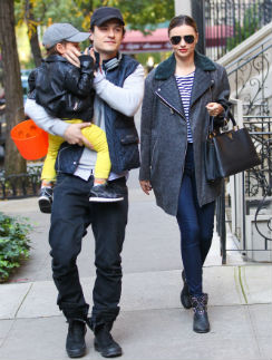 Возможно, Миранда Керр и Орландо Блум решили попробовать сохранить брак ради сына
