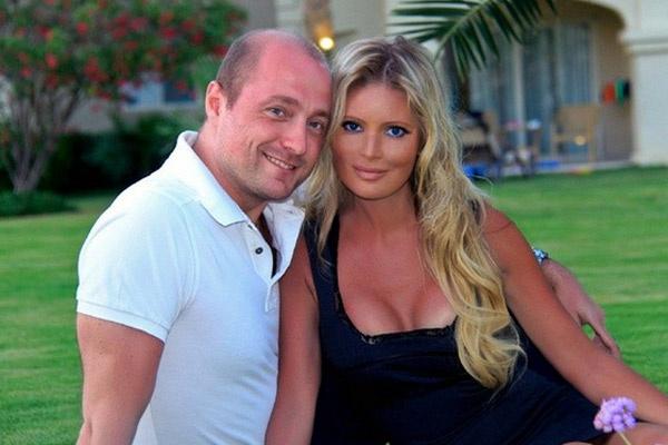 Дана Борисова и ее возлюбленный Алексей Панков