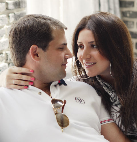 Жасмин и Илан Шор вместе больше шести лет