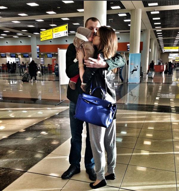 Сергей Бондарчук присоединится к семье чуть позже