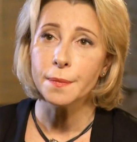 Юлия Рутберг не смогла сдержать слез во время разговора об умершем отце