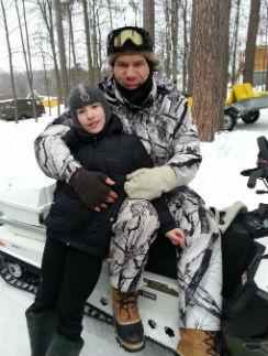 Старшему сыну Николая Валуева исполнилось сегодня 11 лет