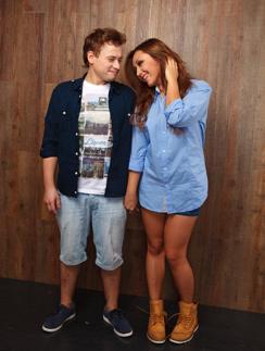Андрей Гайдулян со своей девушкой Дианой