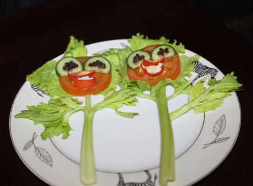 Выпуск 52. Детская овощная тарелка