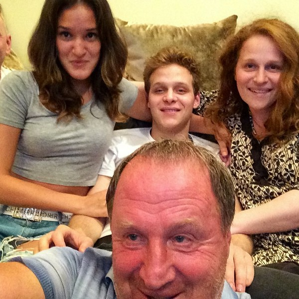 Актер в кругу семьи