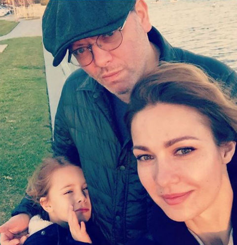 Валерий Тодоровский, Евгения Брик с дочерью Зоей