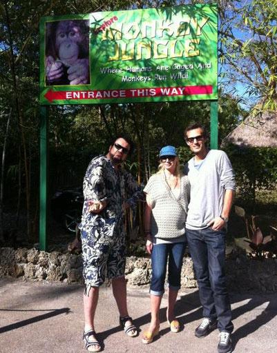 Кристина Орбакайте с мужем и Филиппом Киркоровым