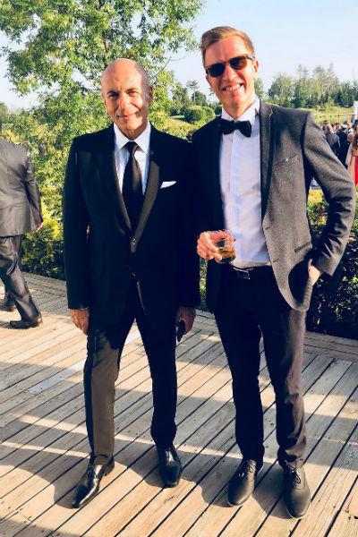 Игорь Крутой давно дружит с семьей невесты