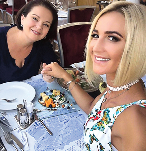 Ольга считает Ирину Александровну лучшей подругой
