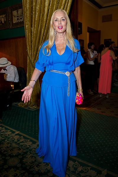 Нелли Кобзон была истиной королевой вечера