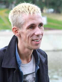 Чтобы отпраздновать начало новой жизни, Алексей Панин перекрасился в блондина