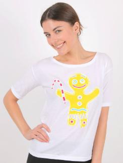 Желтый пряничный человечек создаст праздничное настроение и вам, и окружающим