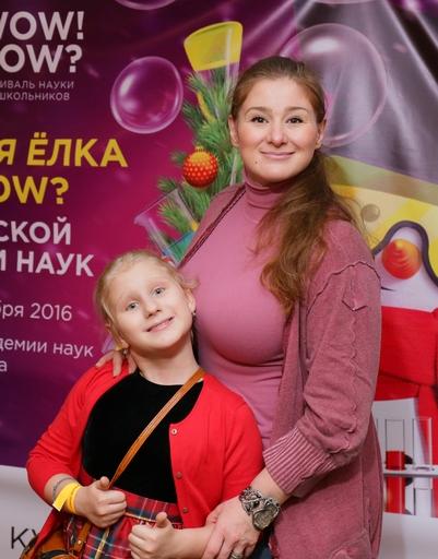 Юлия Куварзина с дочерью